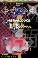 Screenshot of DanceDanceRevolution S