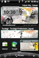 Screenshot of 9s-Weather Theme+ ZodiacRabbit