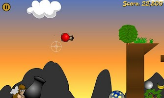Screenshot of Angry Apes