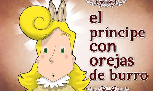 Príncipe con orejas de burro