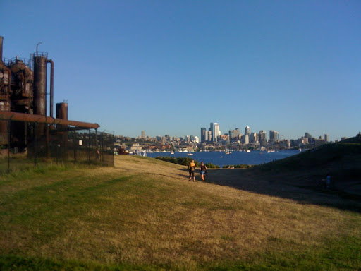 Gas Works view of downtown Seattle