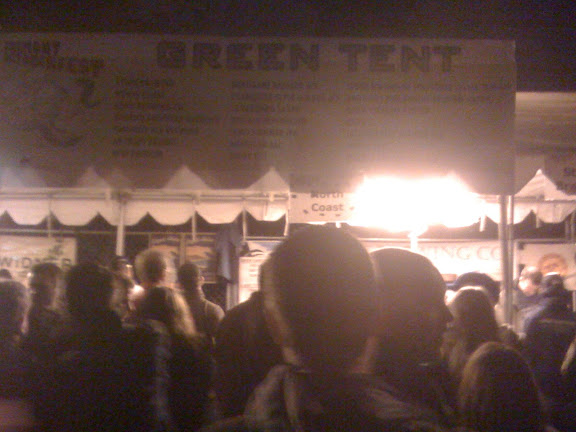 One of 4 Beer Tents at Oktoberfest for trying different ales and such.