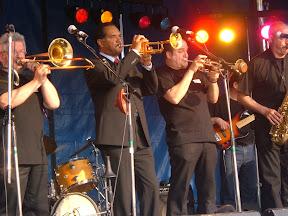 Optreden met Wendell Brunious (trompet)