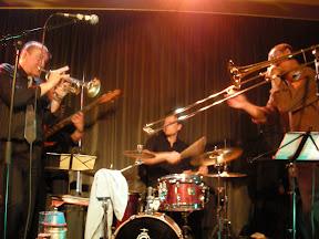 Optreden met Lucien Barbarin (trombone)