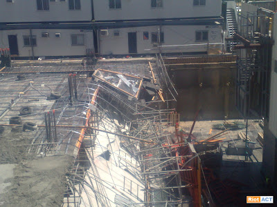 site collapse