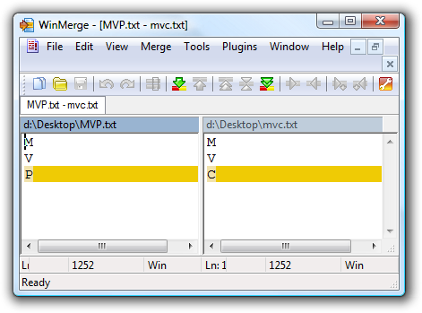 WinMerge - [MVP.txt - mvc.txt]_3.png