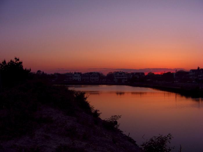 Jersey Shore sunset photo