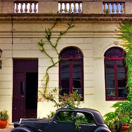 Abandoned and decaying in Colonia, Uruguay by Tyrell Heaton - City,  Street & Park  Historic Districts ( car, uruguay, abandoned )
