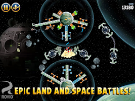 Screenshot of Angry Birds Star Wars HD