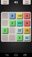 Screenshot of 2048 Puzzle Game