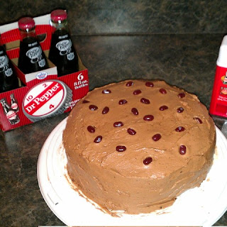 Dr. Pepper Texas Chocolate Cake