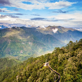 Unexplored Paradise by Himanshu Sharma - Landscapes Mountains & Hills ( clouds, mountains, lansdowne, india, uttarakhand, scenic )