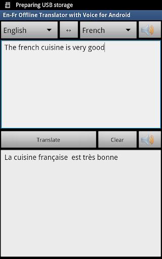 French Free Offline Translator