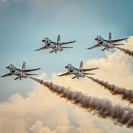 Thunderbirds by Ron Meyers - Transportation Airplanes