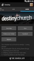 Screenshot of Destiny Church Broken Arrow