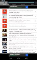 Screenshot of Chile Noticias