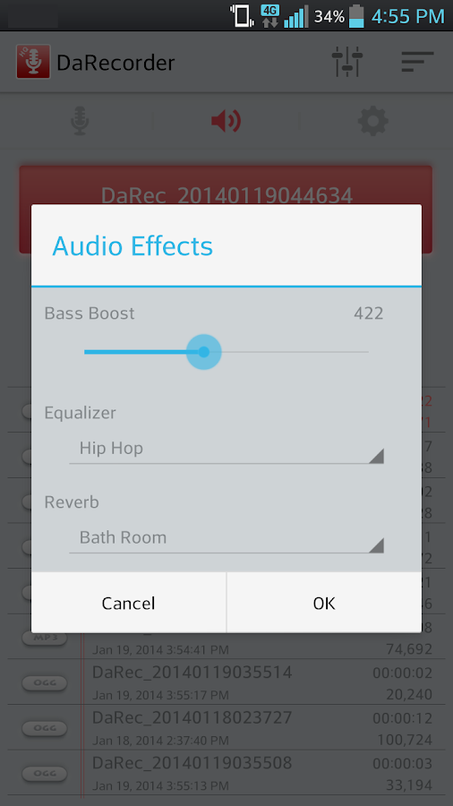 High Quality Voice Recorder Screenshot 7