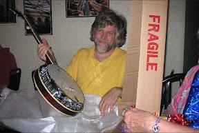 A banjo?