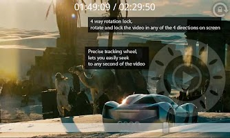 Screenshot of Geeky Video Player Free