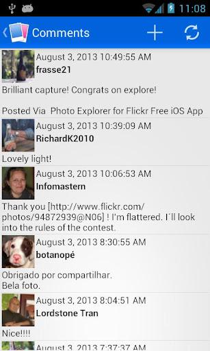 Flippr for Flickr - screenshot