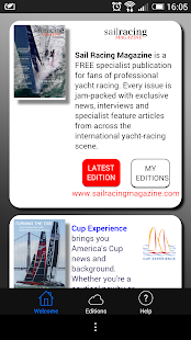 Sail Racing Magazine - screenshot