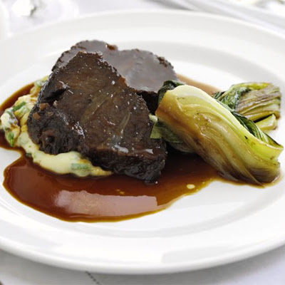 Braised Beef In Honey & Soy