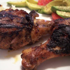 Simple Caribbean Jerk Chicken
