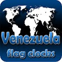 Venezuela flag clocks icon