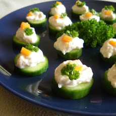 Light Cucumber Canapes