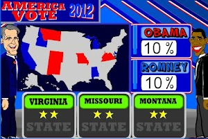 Screenshot of America Vote 2012