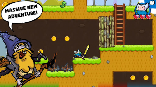 Adventure Time Game Wizard - screenshot