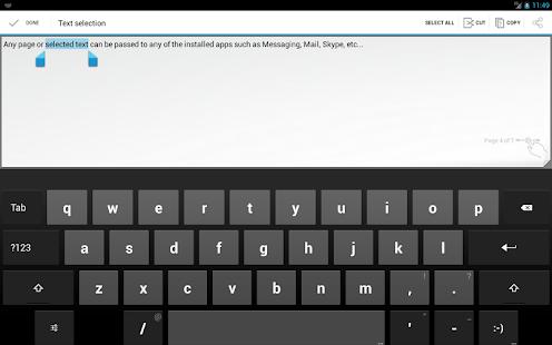 Notizblock – Miniaturansicht des Screenshots
