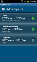 Screenshot of Silent Timer, Sleep Timer Lite