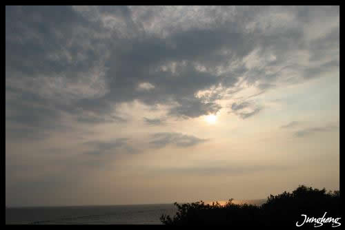 西子灣的夕陽