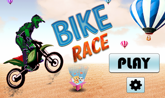 Screenshot of Bike Stunt - Thunder Race