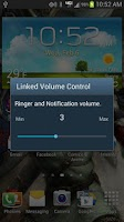 Screenshot of Linked Volume Control