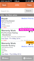 Screenshot of NextMinute - Job Management