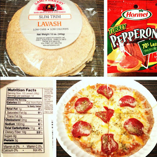 Low Carb Personal Pepperoni Pizza