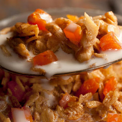 Dried Apricot and Kamut Granola