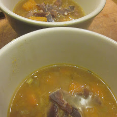 Duck and Pumpkin Soup
