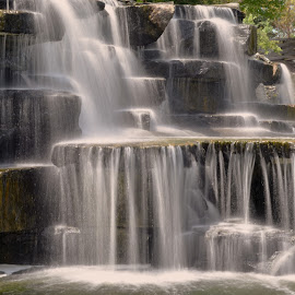 Waterfall by Tim Faust - Landscapes Waterscapes ( water, waterfall, bulb, long exposure, beauty,  )