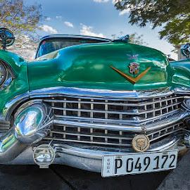 Cuba 1956 by Peter Krocka - Transportation Automobiles ( car, old car, caribbean, cuba )