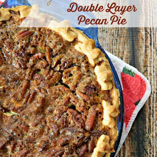 Orange Scented Double Layer Pecan Pie