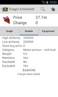 Screenshot of Runescape GE Lookup