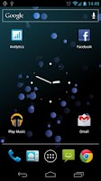 Screenshot of Humble Bubbles Live Wallpaper