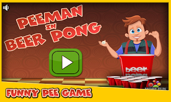 Screenshot of Run Peeman Run in Beer Pong