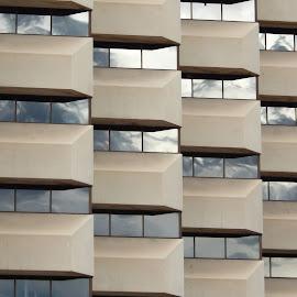 Building and window design by Dan Dusek - Buildings & Architecture Office Buildings & Hotels ( reflections, windows, office building, architecture, design,  )