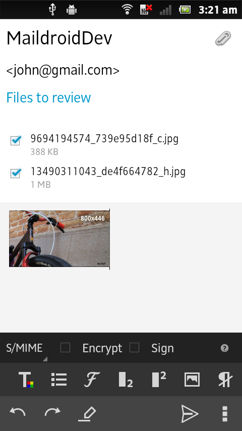 MailDroid - Free Email App Screenshot 5