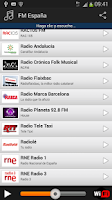Screenshot of FM España