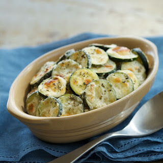 Parmesan-Ranch Baked Zucchini Coins